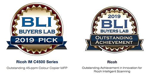 Ricoh enjoys double Buyers Lab Award win | Ricoh Europe