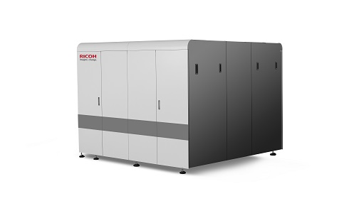 The new Ricoh Pro™ V20000 series continuous feed inkjet platform