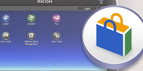 Ricoh Smart Application site