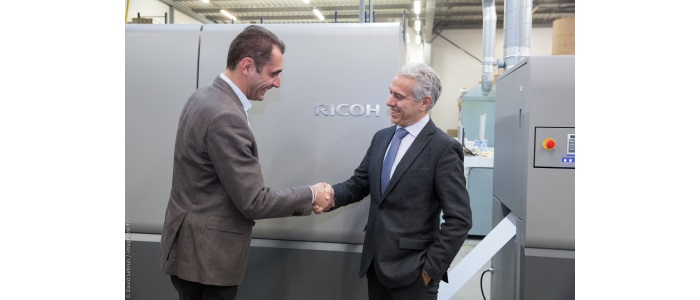 CFI opts for high quality inkjet and chooses Ricoh Pro™ VC60000