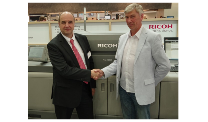 CFH Docmail gives Ricoh Pro™ C9110 seal of approval at Drupa 2016