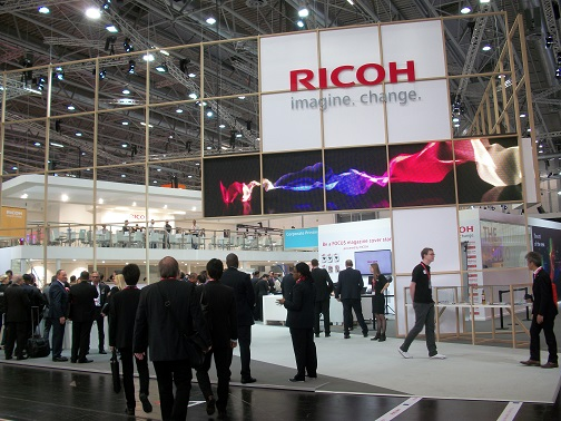 Following a successful drupa 2016 Ricoh is taking its biggest ever portfolio of versatile solutions to drupa 2020