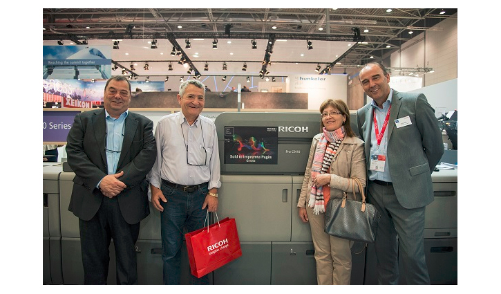 Impremta Pages orders Ricoh Pro™ C9110 press at drupa 2016