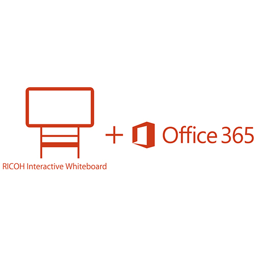 RICOH Interactive Whiteboard Add-on Service for Office 365