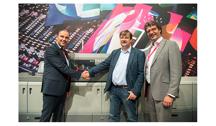 Magneet orders second Ricoh Pro™ C9110 press at Drupa 2016