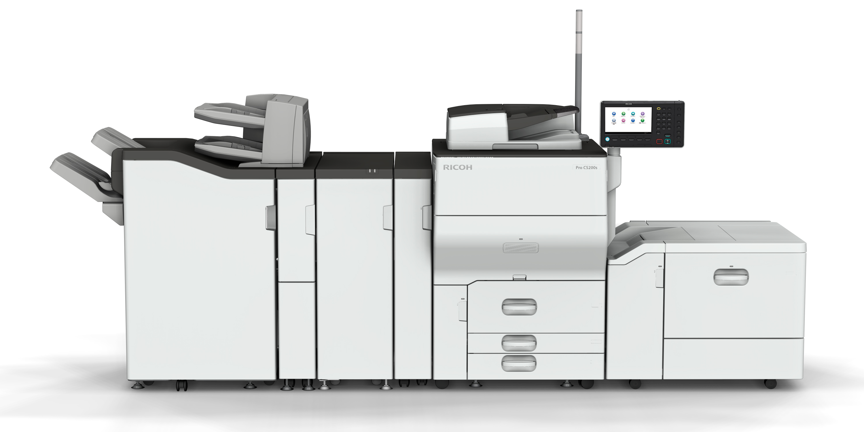 Ricoh's digital book printing solution and Ricoh Pro™ C5200 series receive EDP endorsement