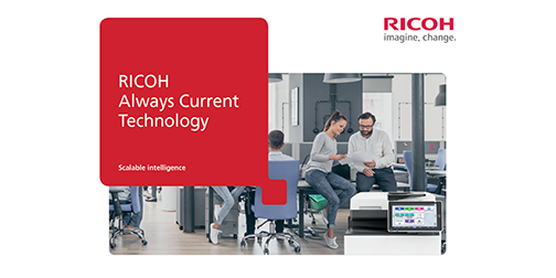 Ricoh Always Current Technology brochure