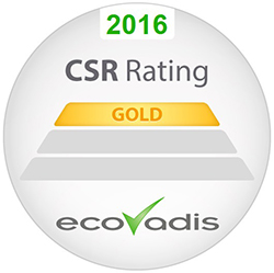 Ricoh awarded highest gold rating in EcoVadis Global Supplier Survey twice in a row