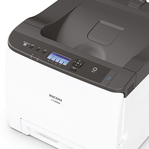 A4 spalvinis spausdintuvas Ricoh P C300W