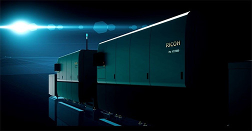 The Ricoh Pro VC70000 technology platform received EDP recognition